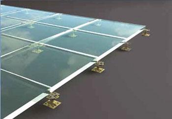 Glas-Doppelboden
